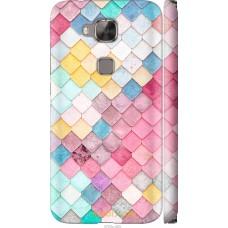 Чехол на Huawei G8 Красочная черепица