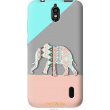 Чехол на Huawei Ascend Y625 Узорчатый слон
