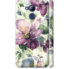 Чехол на Huawei Honor 6C Pro Акварель цветы