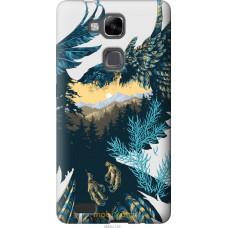 Чехол на Huawei Ascend Mate 7 Арт-орел на фоне природы