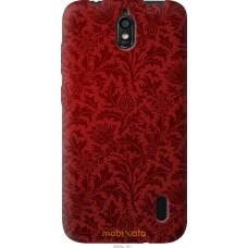 Чехол на Huawei Ascend Y625 Чехол цвета бордо