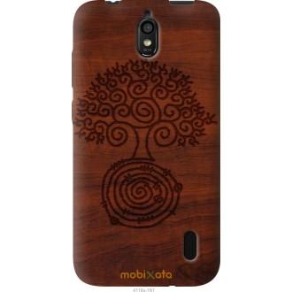 Чехол на Huawei Ascend Y625 Узор дерева