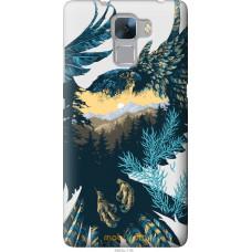 Чехол на Huawei Honor 7 Арт-орел на фоне природы