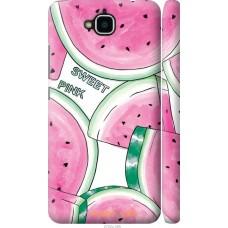 Чехол на Huawei Y6 Pro Розовый арбузик