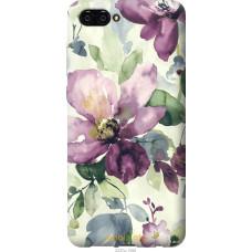 Чехол на Huawei Nova 2S Акварель цветы