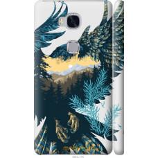 Чехол на Huawei Honor 5X Арт-орел на фоне природы