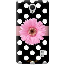 Чехол на Huawei Y635 Цветочек горошек v2