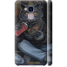 Чехол на Huawei Honor 5C gamer cat