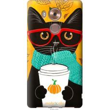 Чехол на Huawei Mate 8 Осенний кот
