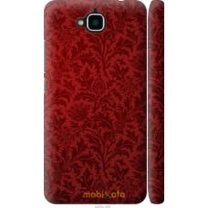 Чехол на Huawei Y6 Pro Чехол цвета бордо