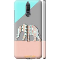 Чехол на Huawei Mate 10 Lite | Honor 9i Узорчатый слон