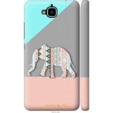 Чехол на Huawei Y6 Pro Узорчатый слон