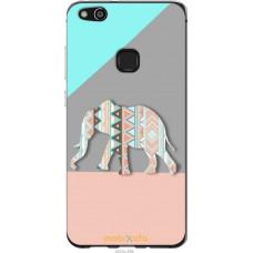 Чехол на Huawei P10 Lite Узорчатый слон