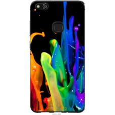 Чехол на Huawei P10 Lite брызги краски