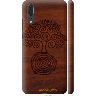 Чехол на Huawei P20 Узор дерева