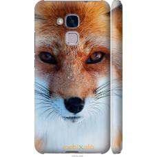 Чехол на Huawei Honor 5C Рыжая лисица