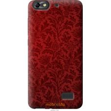 Чехол на Huawei Honor 4C Чехол цвета бордо
