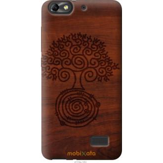 Чехол на Huawei Honor 4C Узор дерева