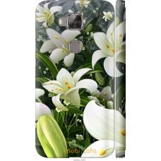 Чехол на Huawei G7 Plus Лилии белые