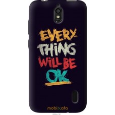 Чехол на Huawei Ascend Y625 Everything will be Ok