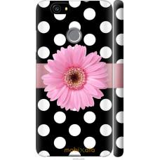 Чехол на Huawei Nova Цветочек горошек v2