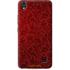 Чехол на Huawei G620S Чехол цвета бордо