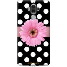 Чехол на Huawei Mate 9 Цветочек горошек v2
