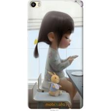 Чехол на Huawei P8 Max Милая девочка с зайчиком