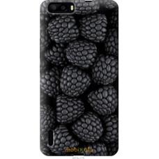 Чехол на Huawei Honor 6 Plus Черная ежевика