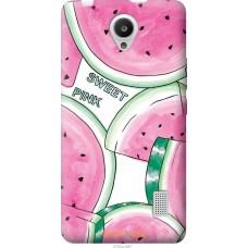 Чехол на Huawei Y635 Розовый арбузик