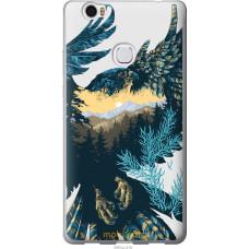 Чехол на Huawei Honor Note 8 Арт-орел на фоне природы