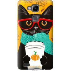 Чехол на Huawei Ascend Mate 7 Осенний кот