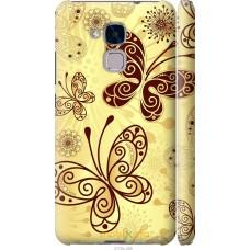 Чехол на Huawei GT3 Рисованные бабочки