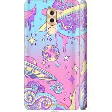 Чехол на Huawei Mate 9 Lite 'Розовый космос