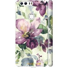 Чехол на Huawei Honor 8 Акварель цветы
