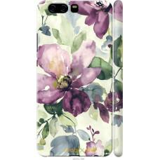 Чехол на Huawei P10 Акварель цветы