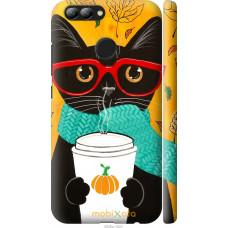 Чехол на Huawei Nova 2 Осенний кот