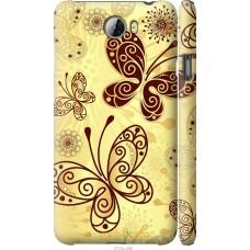 Чехол на Huawei Y5 II Рисованные бабочки