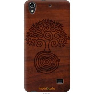 Чехол на Huawei Honor 4 Play Узор дерева