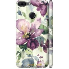 Чехол на Huawei Honor 9 Lite Акварель цветы
