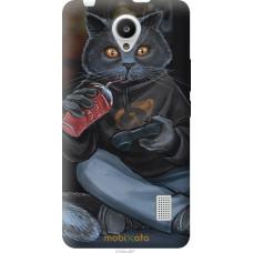 Чехол на Huawei Y635 gamer cat