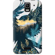 Чехол на Huawei Ascend Y3C Арт-орел на фоне природы