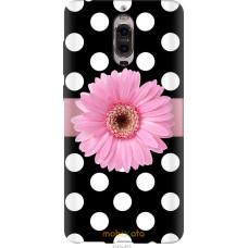 Чехол на Huawei Mate 9 Pro Цветочек горошек v2