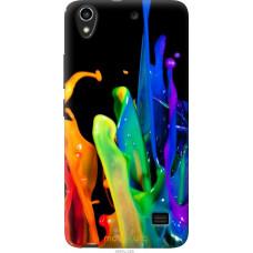 Чехол на Huawei Honor 4 Play брызги краски