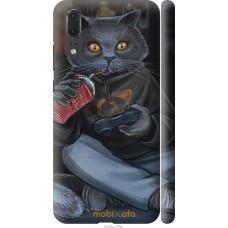 Чехол на Huawei P20 gamer cat