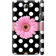 Чехол на Huawei Y5 II Цветочек горошек v2