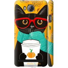 Чехол на Huawei Y3II | Y3 2 Осенний кот