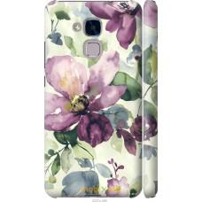 Чехол на Huawei Honor 5C Акварель цветы