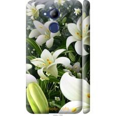 Чехол на Huawei Honor 6C Pro Лилии белые
