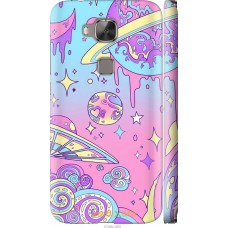 Чехол на Huawei G8 'Розовый космос